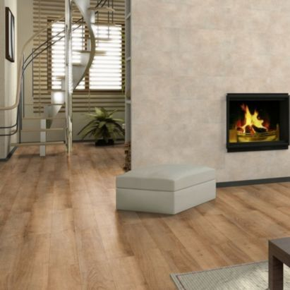 Natural Oak Effect Laminate Flooring 175m Per Pack 5021318038214