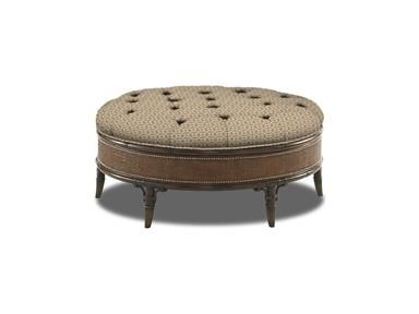 Shop For Tommy Bahama Home Marsh Hill Leather Cocktail Ottoman