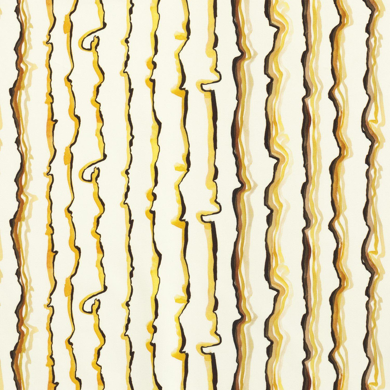 Textile Lemon  Cotton Canvas, Lemon, Lars Nilsson - Svenskt