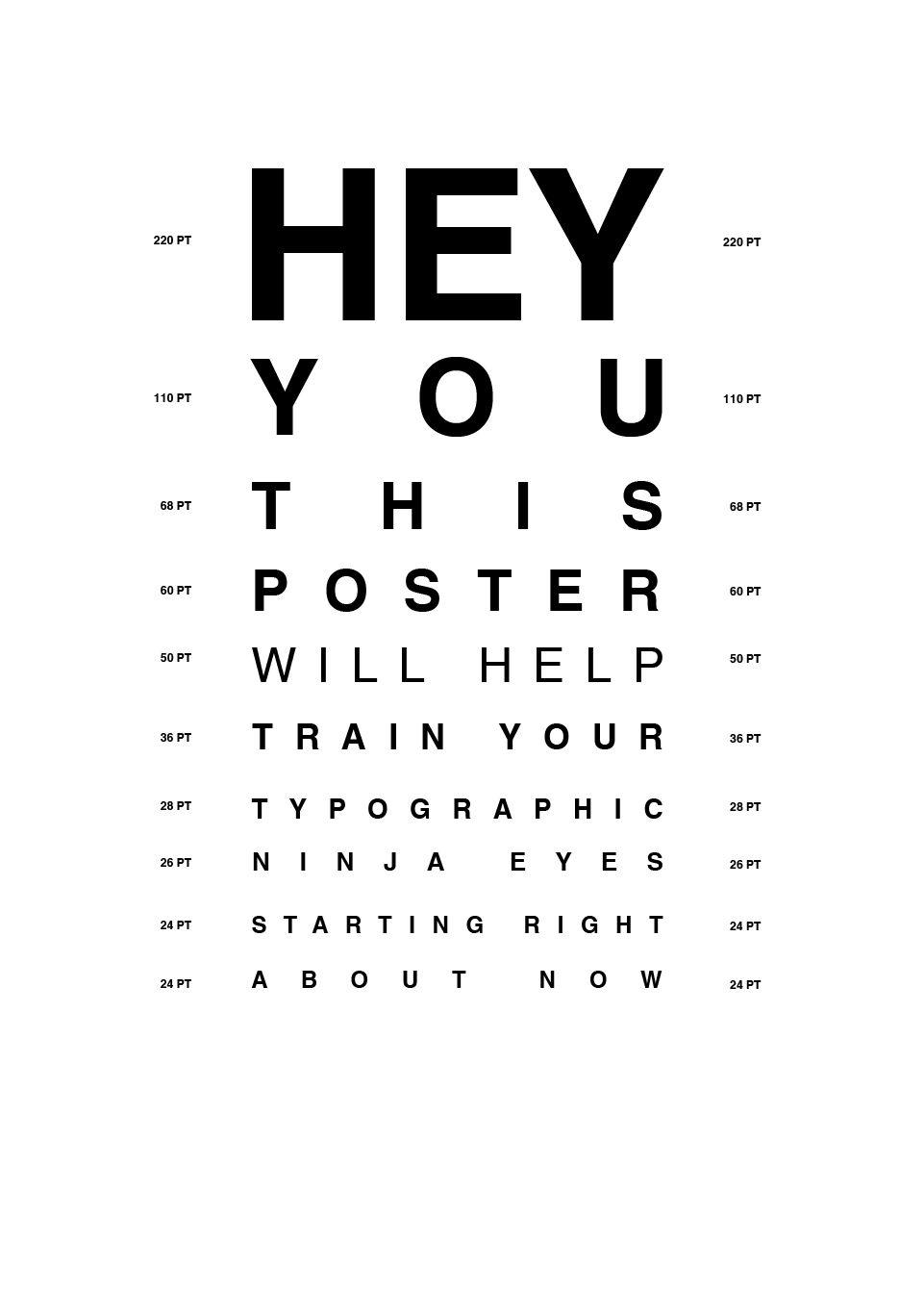 Eye Chart Web Jpg 936 1368 Eye Chart Typography Poster Eye Test Chart