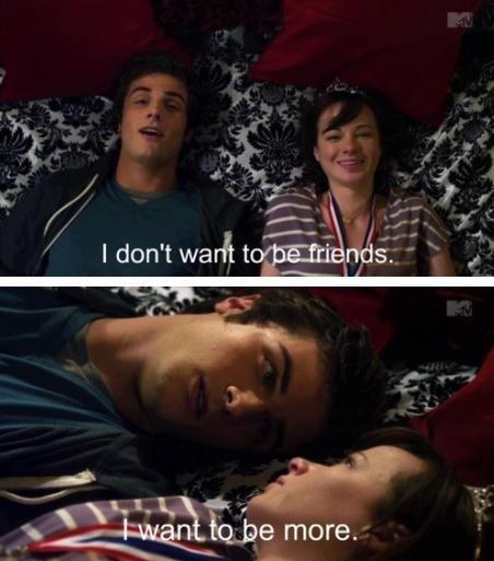 One of my favorite Jenna and Matty scenes from Awkward. season 1