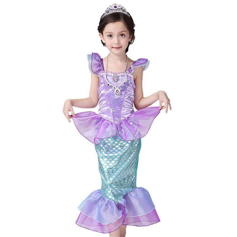girls halloween character costumes for birthday parties 2Year to kd 8 little  mermaid dress  Affiliate. 2016 christmas Children ... 0f65714c3722