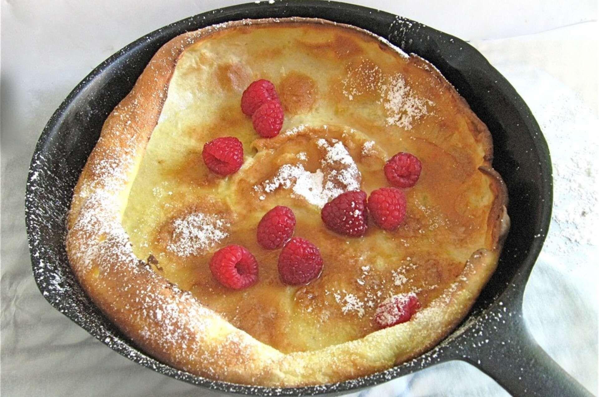 Lemon Puff Pancake with Fresh Berries | King Arthur Flour ...