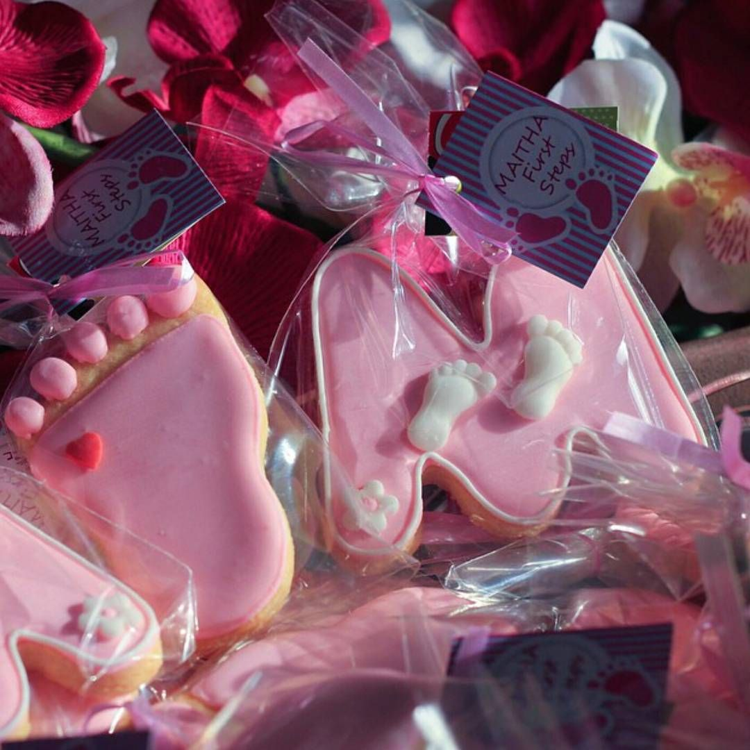 توزيعات مواليد بنات Baby Shower Favors Baby Girl Cookies Baby Shower
