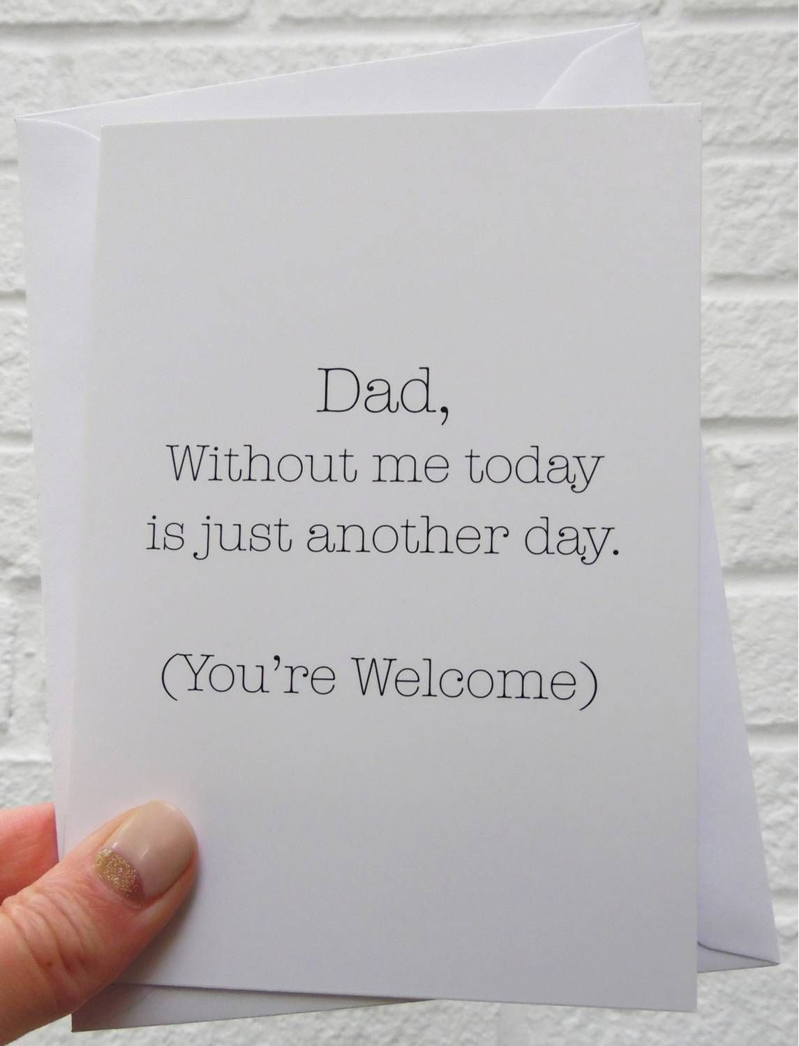 Funny Father's Day Cards That Are Better Than Dad Jokes clever fathers day gifts, daddy gifts, fathers day crafts diy Father's Day Cards That Are Better Than Dad Jokes