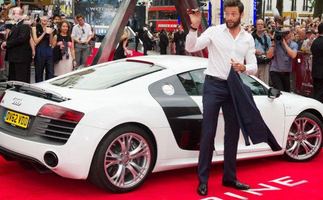 صور أوسم النجوم مع أجمل السيارات على السجادة الحمراء Hugh Jackman Jackman Wolverine Hugh Jackman