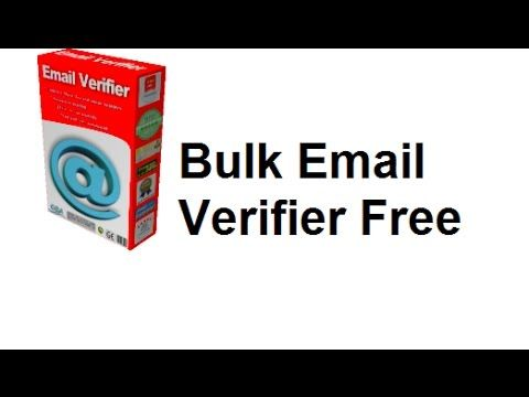 Best Free Bulk Email Verifier software 2017 | Places to visit