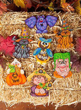 Halloween Pins/ Sharon Cook