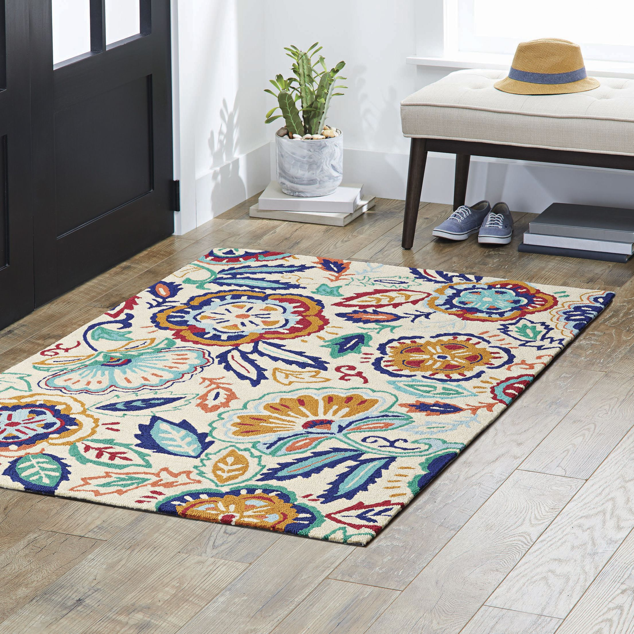 Better Homes And Gardens Olefin Area Rug With Images Better