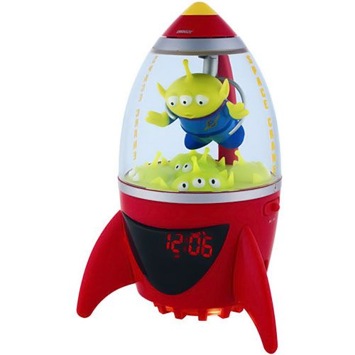 Disney Toy Story Aliens Alarm Clock Radio Toy Story Nursery Toy