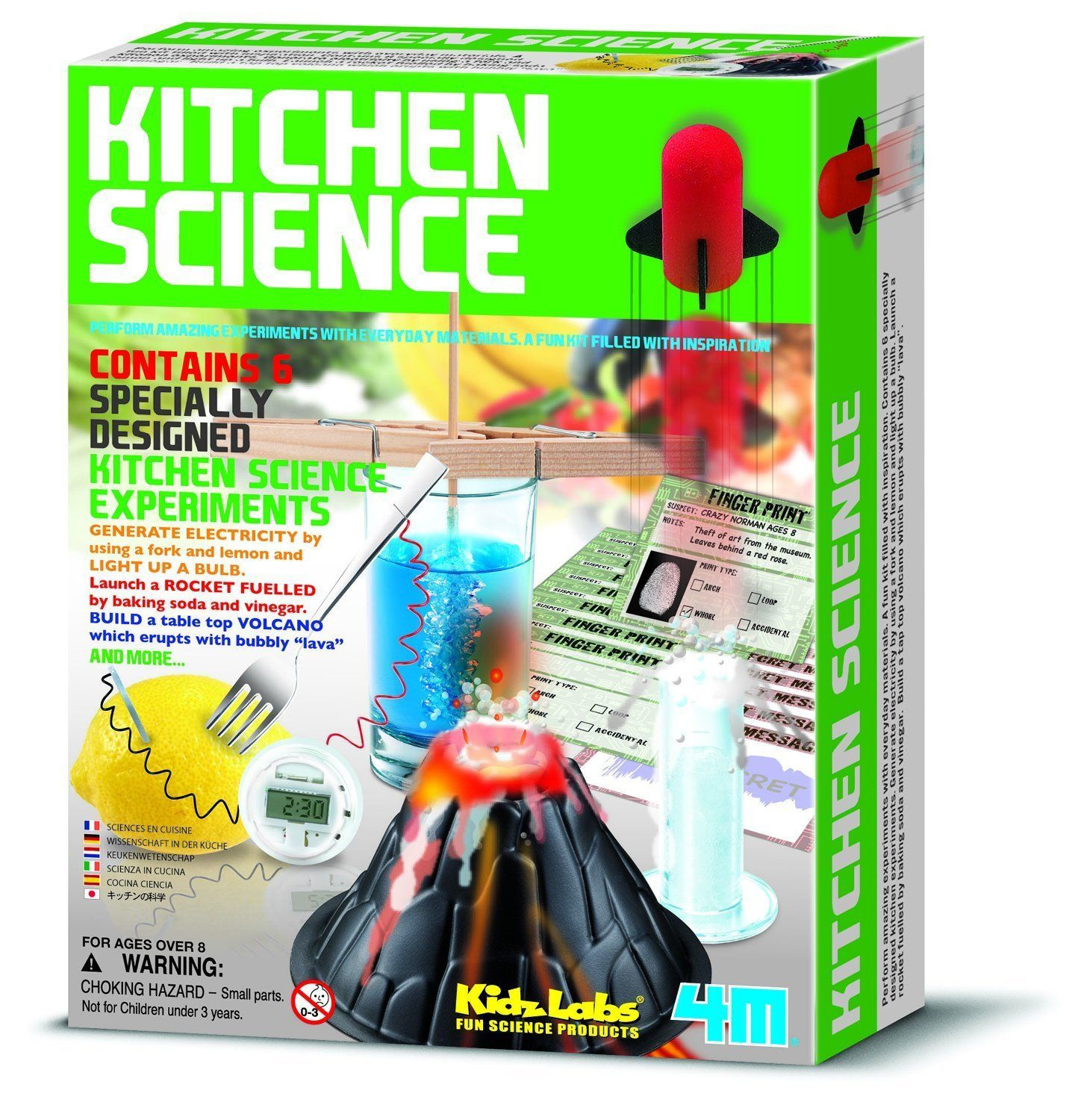 Amazon.com: 4M Kitchen Science Kit: Toys & Games | Kiddos ...