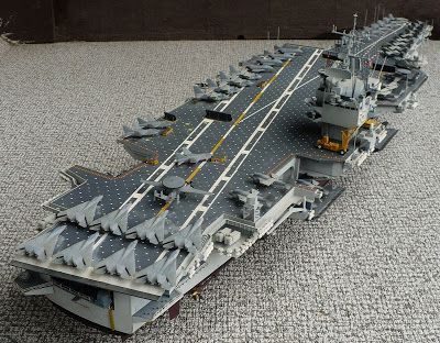 1e84d9bf1 Tamiya's 1/350 scale Newport News Shipping USS Enterprise CVN 65 aircraft  carrier.