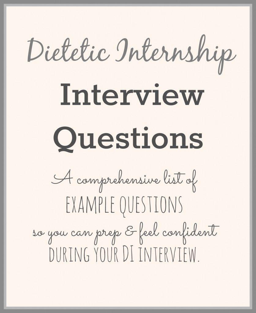 dietetic internship interview questions stephanierdn com rdbe dietetic internship interview questions stephanierdn com rd2be