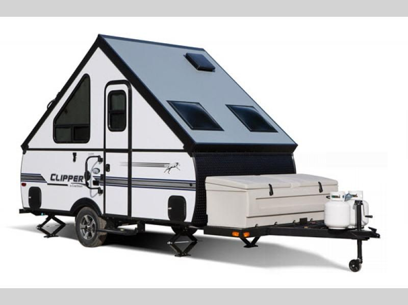 Clipper Camping Trailers A Frames Rv Sales 2 Floorplans Camping Trailer For Sale Rv For Sale Camping