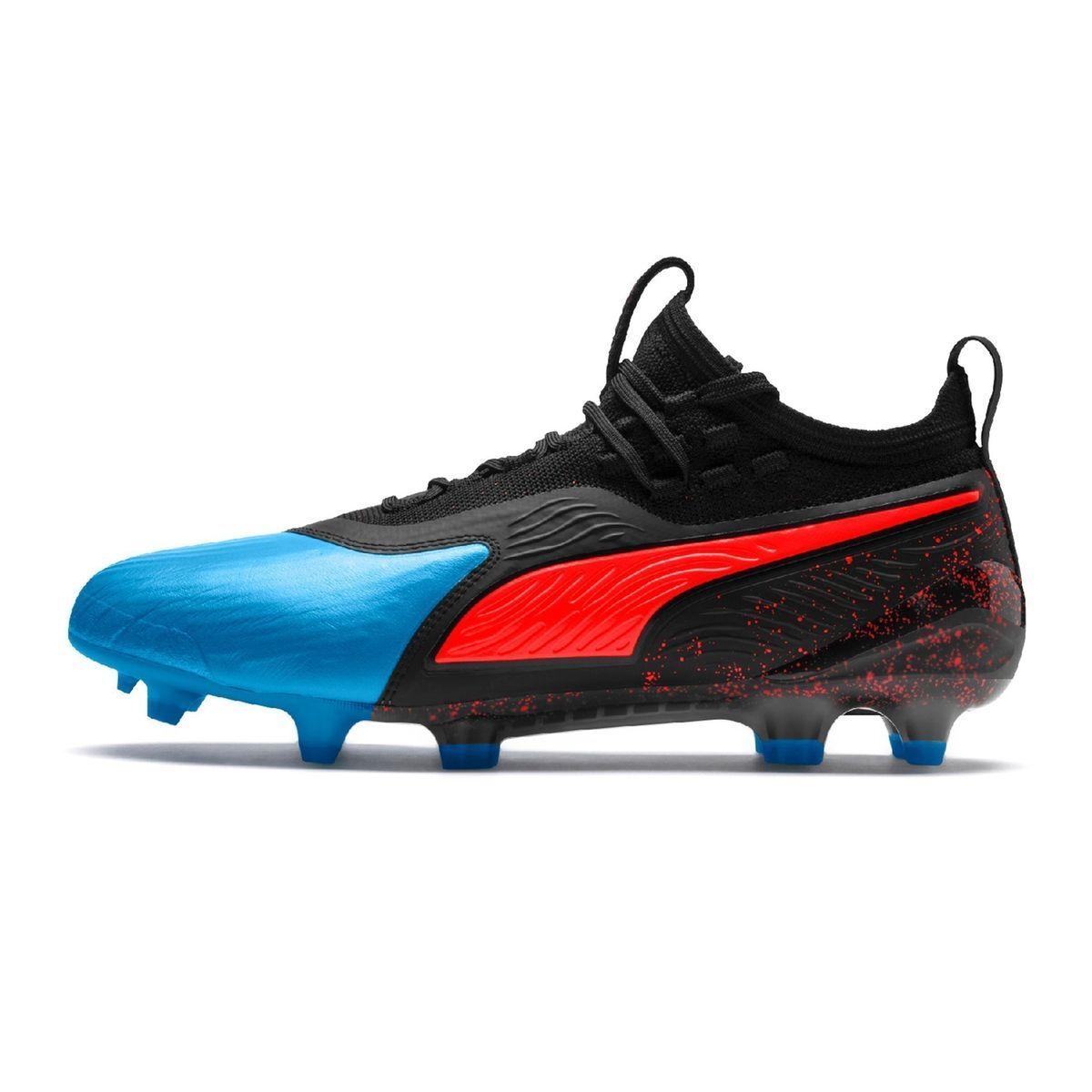 Chaussures Football Puma One 19.1 Fgag bleu Taille : 42