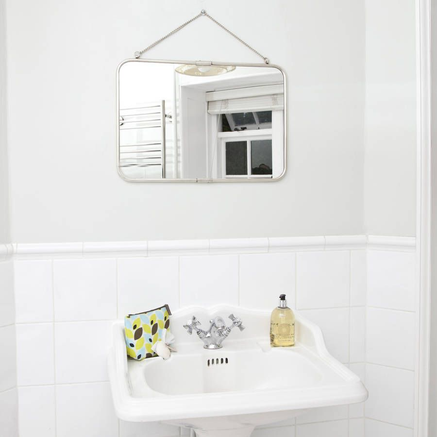 Antique Hanging Silver Mirror | Decorative mirrors, Sitting rooms ...