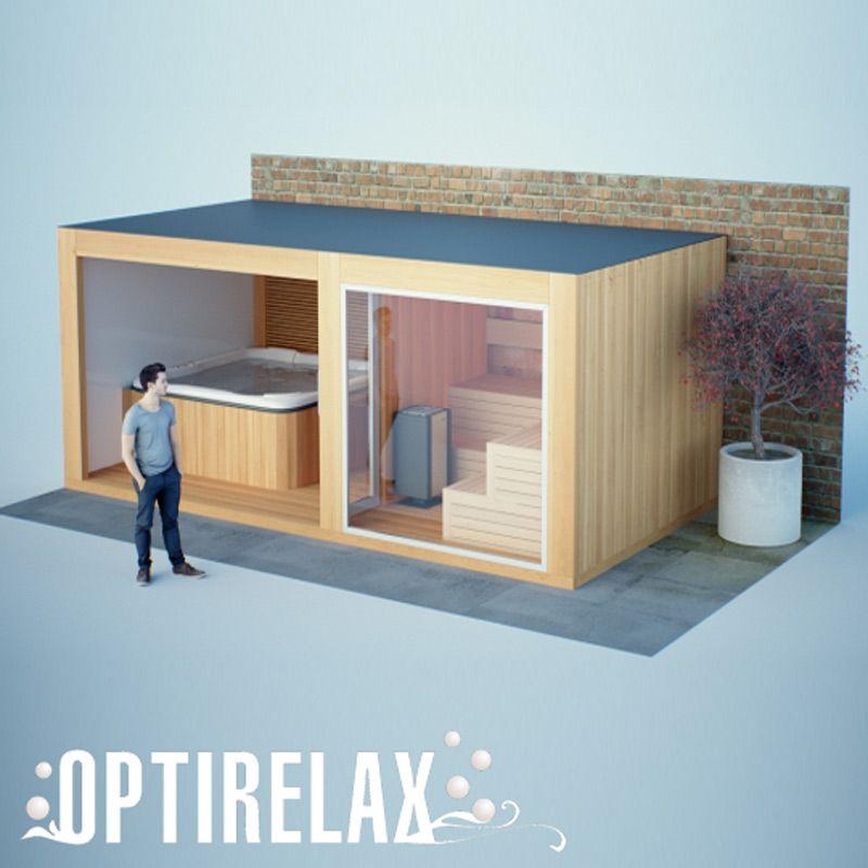 Gartenhaus Mit Sauna Und Pool