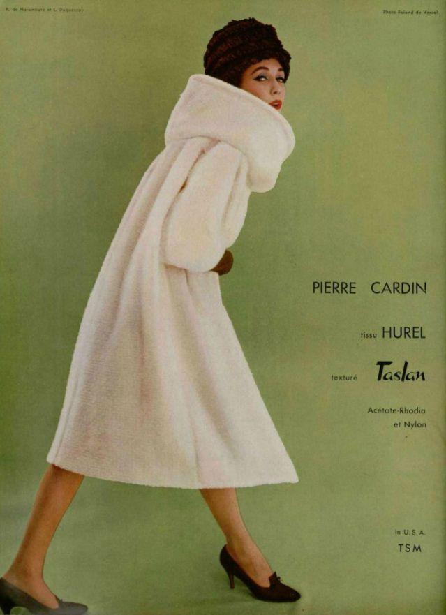 https://flic.kr/p/iSXHTM | PIERRE CARDIN 1959 | 1959's fashion