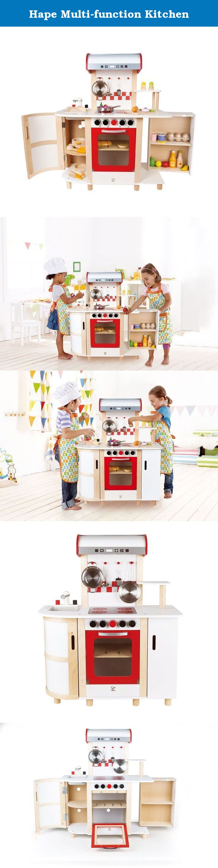 Hape Multi-function Kitchen. Find out what\'s cooking in this multi ...