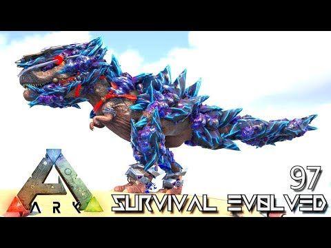 ARK: SURVIVAL EVOLVED – NEW TEK ARMED TREX FOREWORLD MYTH E97 (MOD