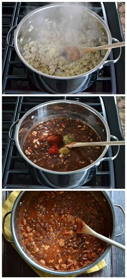 Weeknight Black Bean Chili Recipe