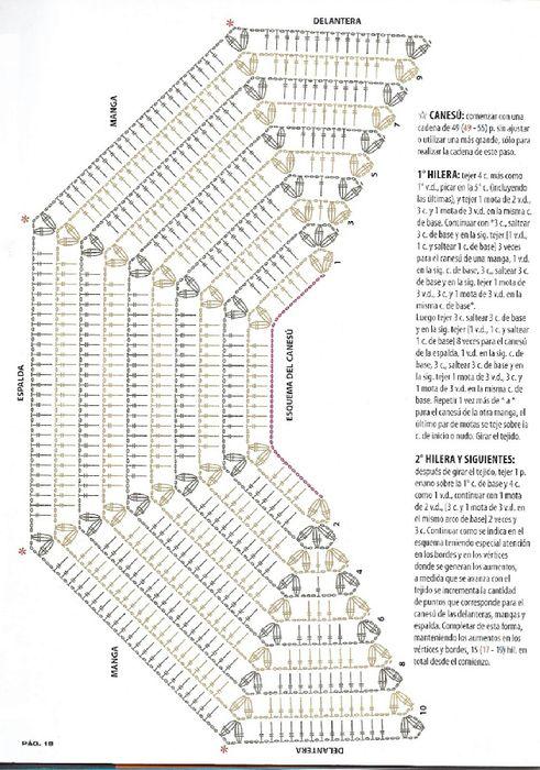 CARAMELO DE CROCHET: aires de campo | Crochet Shawls, Ponchos, Capas ...