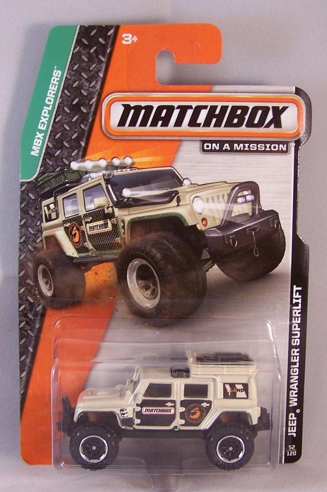 Matchbox 1//64 Jeep Wrangler Superlift Tan
