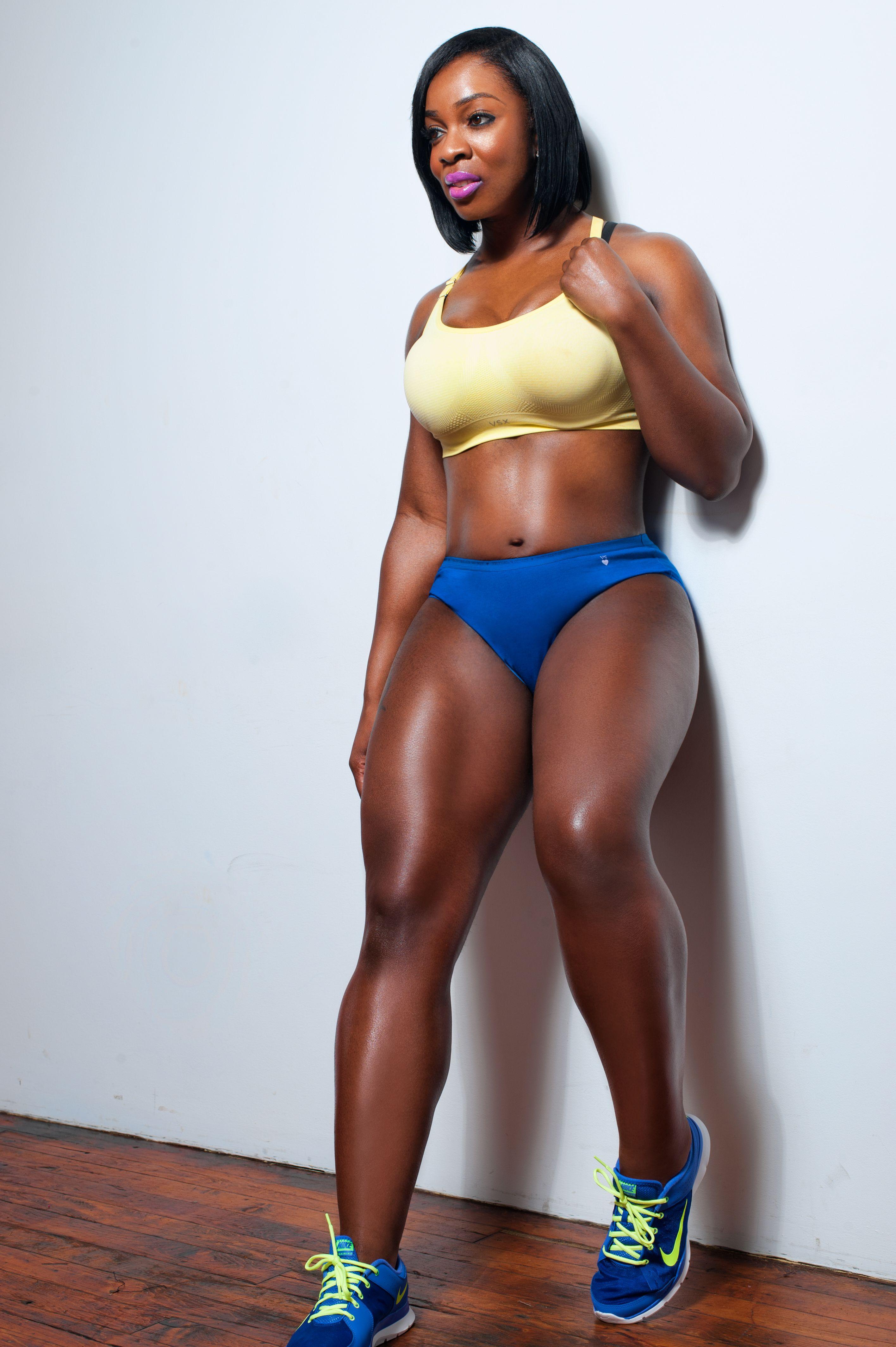 Gallery  Fit Black Women, Black Fitness, Beautiful Black -8894