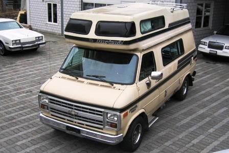 45a3e26e4d CHEVROLET Van G20 Alkoven Horizon 170 Camper 4