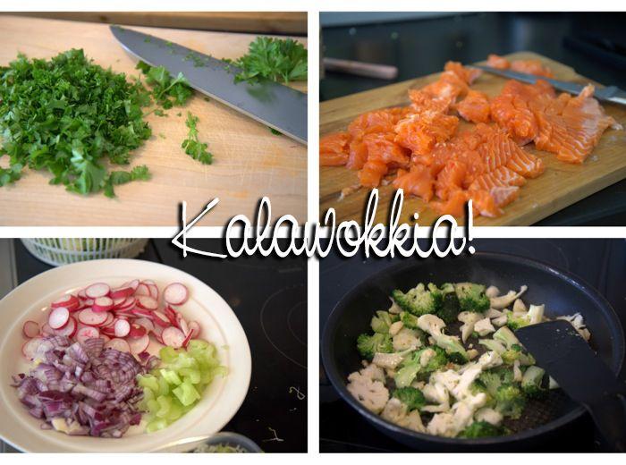 Food Friday: Fish Wok  http://monasdailystyle.costume.fi/2014/01/17/food-friday-fish-wok/