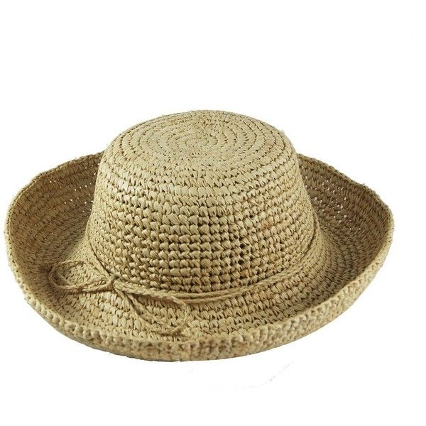 e77d2a5bc5d2a Justine Hats Raffia Straw Hat For Women (24.515 HUF) ❤ liked on Polyvore  featuring