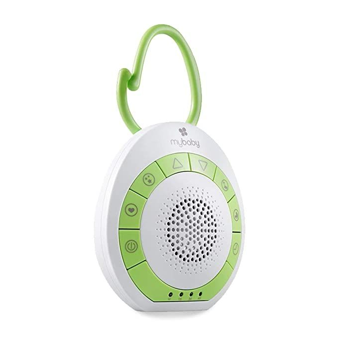 Amazon.com: MyBaby Soundspa On-The-Go - Portable White ...