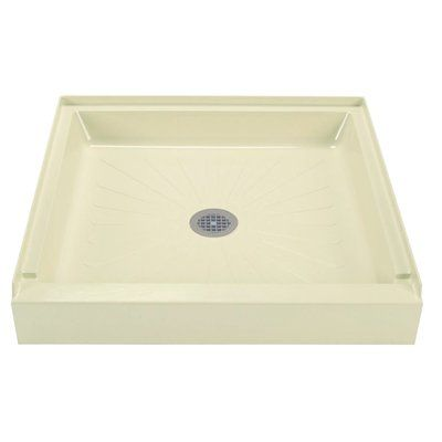 E L Mustee Son Durabase 32 X 32 Single Threshold Shower Base