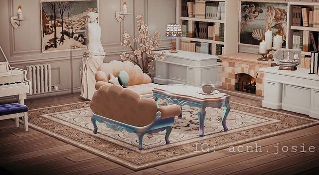 Pin on ACNH in 2020 | New animal crossing, Animal crossing ... on Animal Crossing New Horizons Living Room Ideas  id=22362