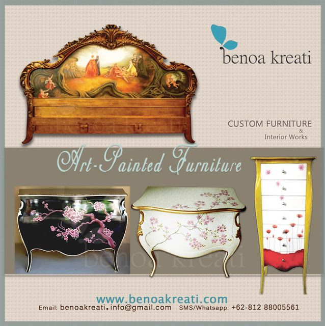 Custom Furniture Indonesia   |   Artistic • Painted • Rustic • Antique: WELCOME