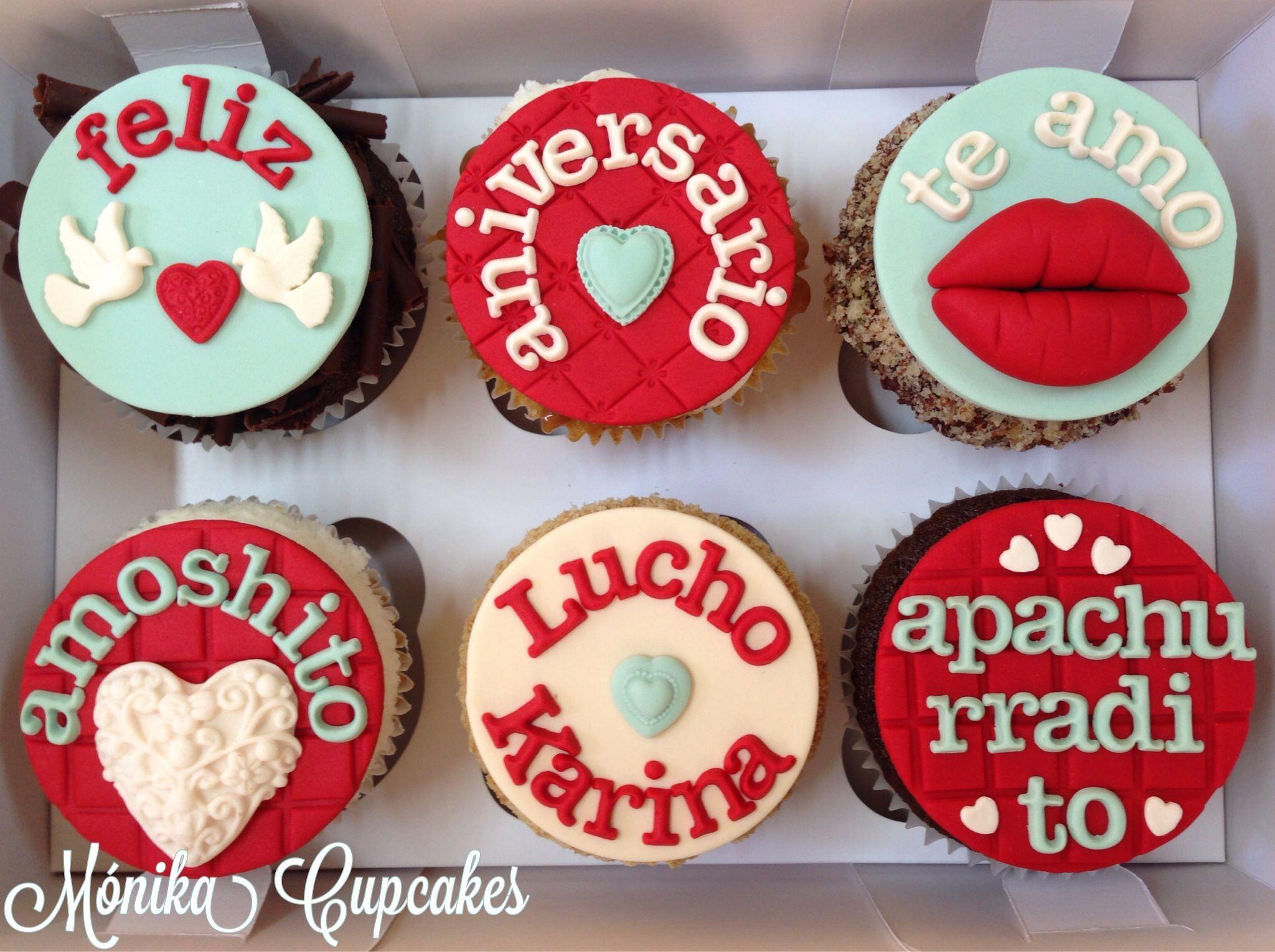 Pasteles Aniversarios Pictures To Pin On Pinterest: Cupcakes De Aniversario