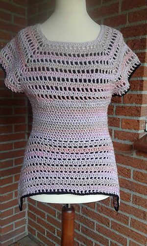 Haakpatroon Lente Tuniek Dameskleding Haakinformatie Crochet