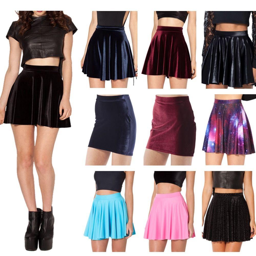 3437c7f6b Aliexpress.com: Comprar American apparel falda skater invierno de la ...