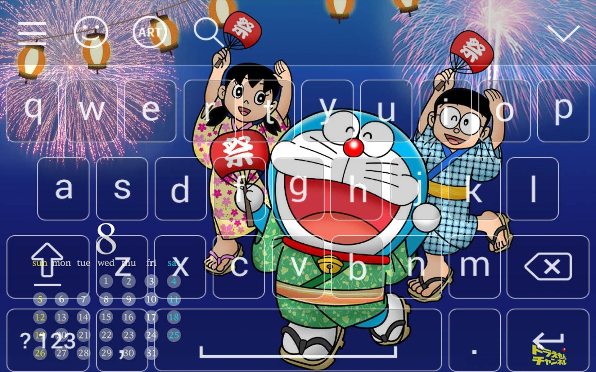 Aplikasi Wallpaper Doraemon Bergerak New Keyboard For Doraemon 2018 For Android Apk Download Wallpaper Doraemon Berger In 2020 Doraemon Hd Anime Wallpapers Wallpaper