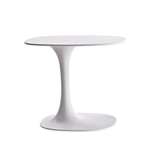 Contemporary garden side table by Naoto Fukasawa AWA OUTDOOR B&B Italia