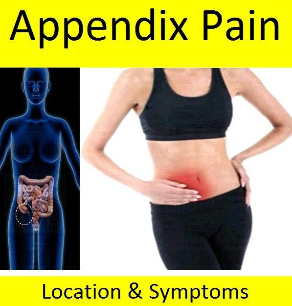 Appendix Pain - Location & Symptoms in Adults | Health Tips, Health ...