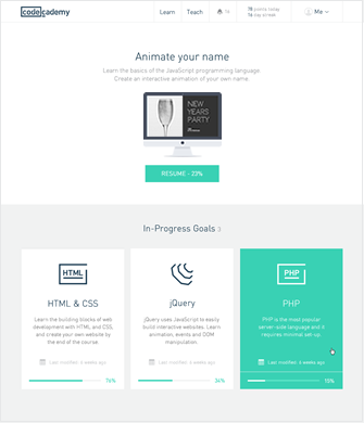 Reimagining Codecademy Com Web Design Projects Web Design Interface Design
