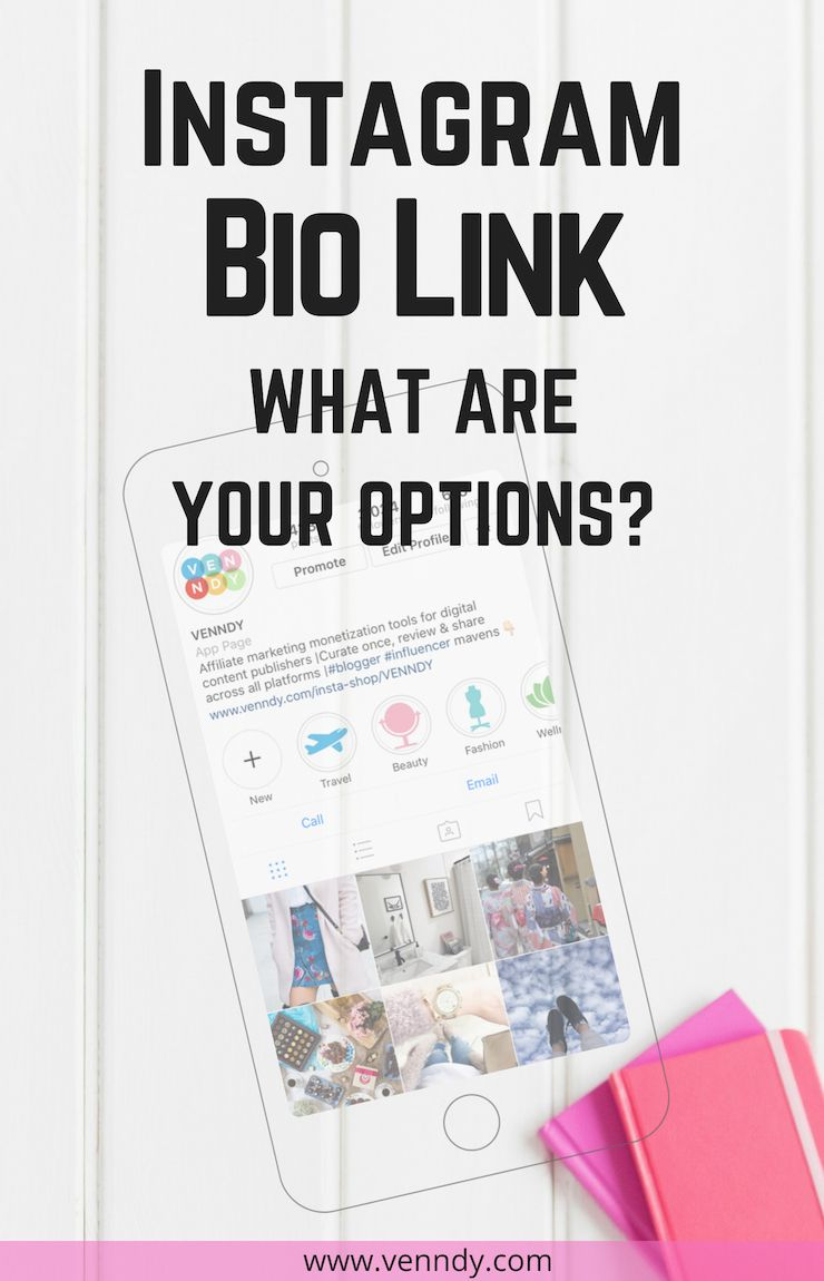 Instagram Bio Ideas What Are Your Options When It Comes To That Only Link You Have In Your Insta Instagram Stats Instagram Marketing Tips Instagram Marketing