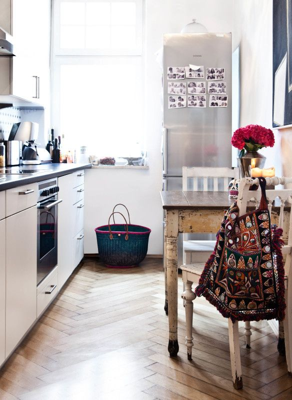 Küche im boho chic delia fischer homestories