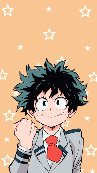 BNHA Midoriya Lockscreen Hero wallpaper, Anime wallpaper