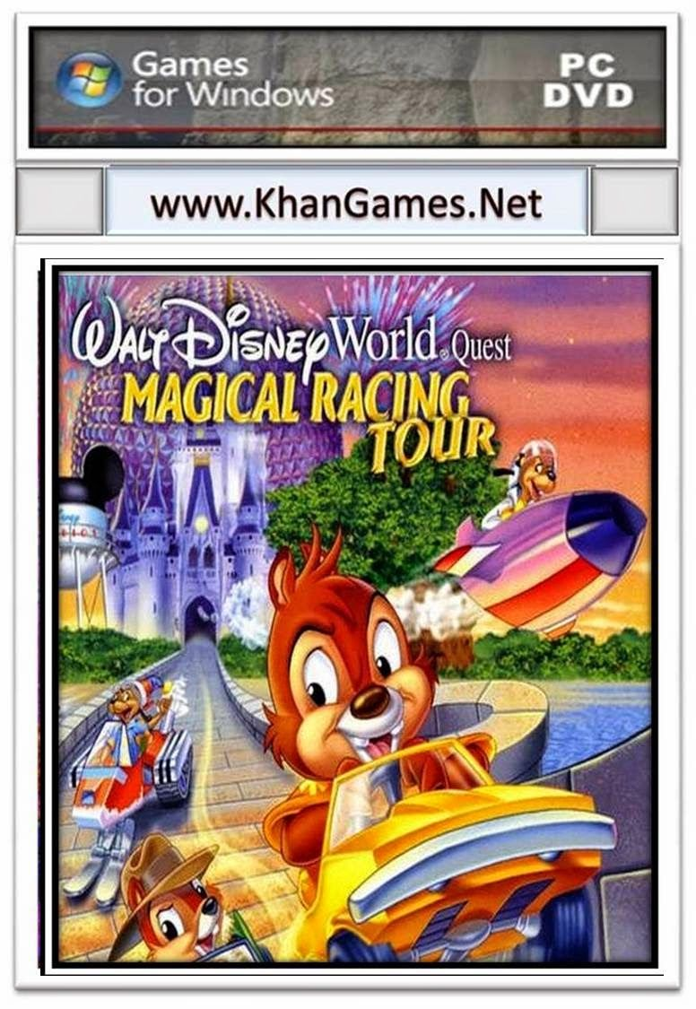 Walt Disney World Quest Magical Racing Tour Game Size 61