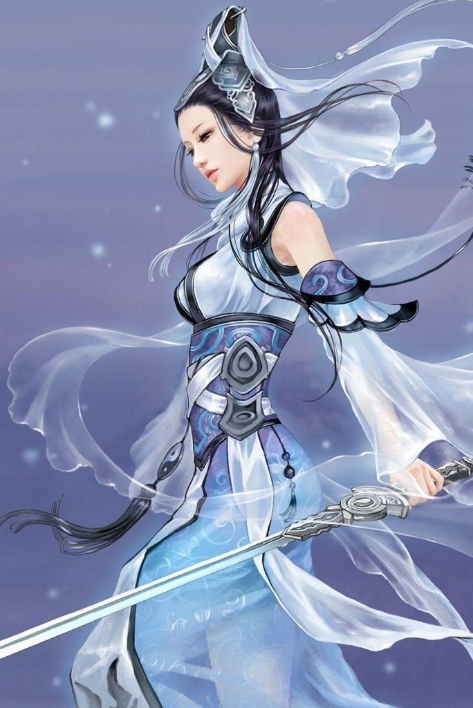 Warrior Japan Anime Warrior Girl Anime Warrior
