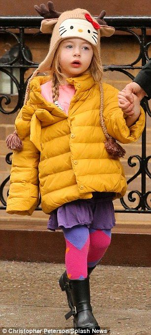 Sarah Jessica Parker & twins : Marion & Tabitha.  wearing Monnalisa Coats !! :)