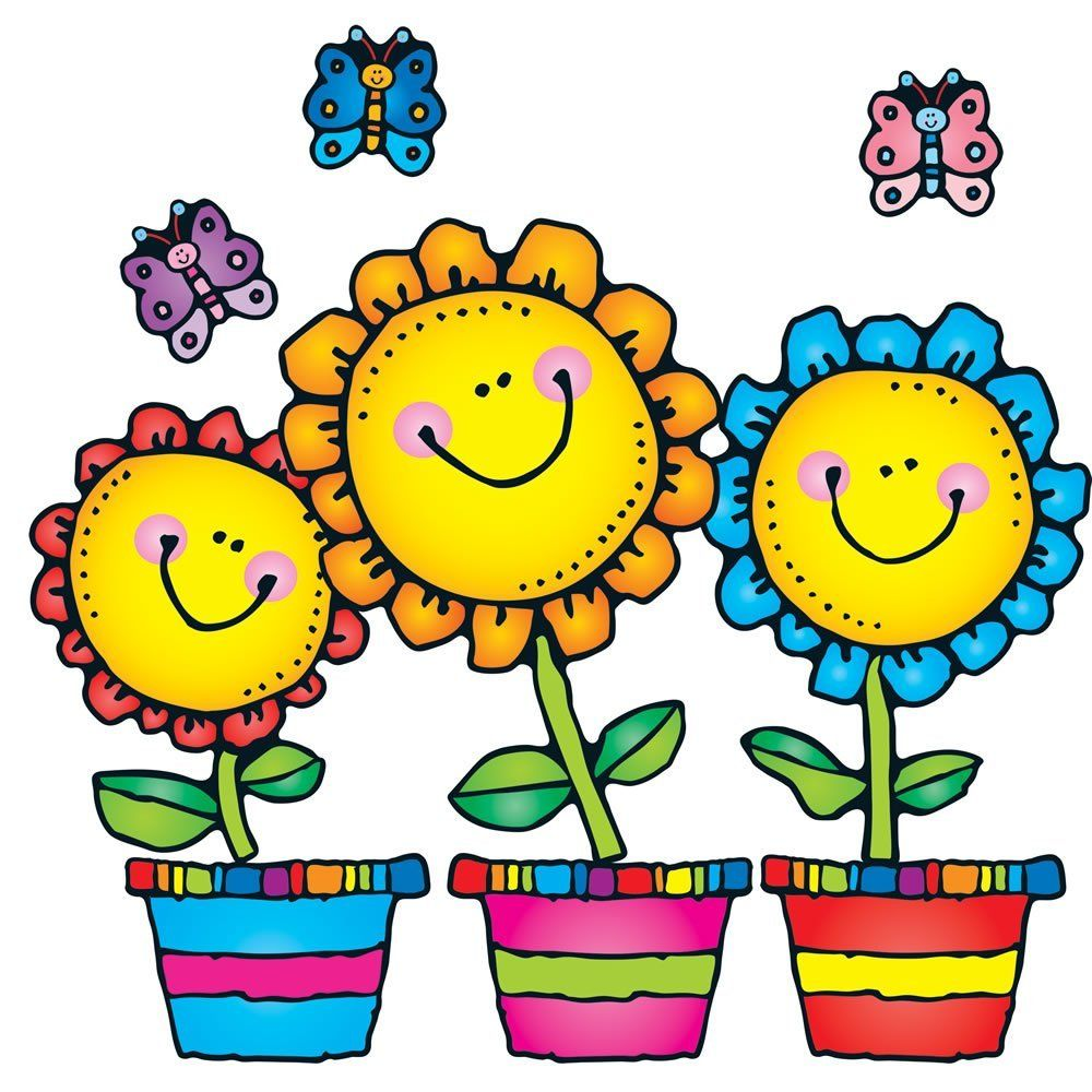 amazon com carson dellosa d j inkers blooming flowers bulletin rh pinterest co uk dj inkers fall clipart dj inkers free clip art