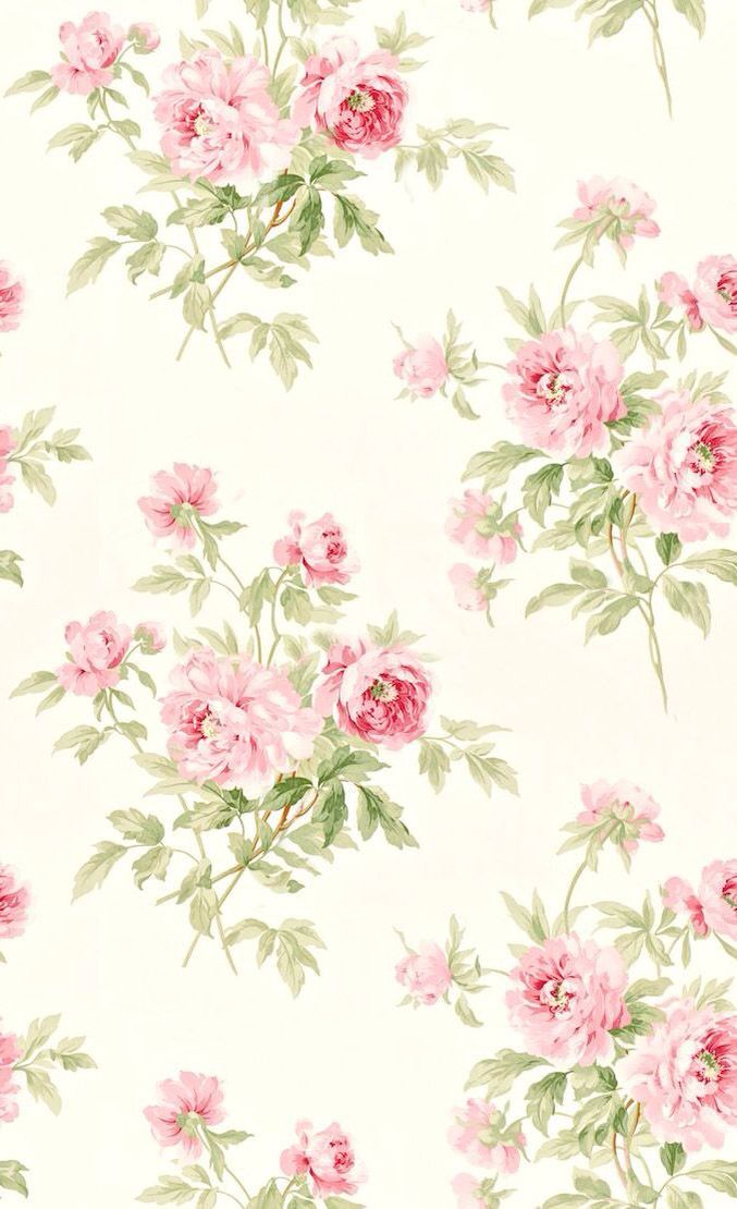 Pin By Lul Sanchez On Wallpapers Shabby Chic Wallpaper Pink